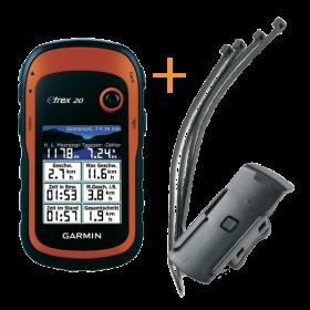 Garmin eTrex 20 - Fietspakket